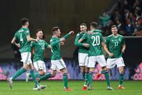 Северная Ирландия празднует успех, Getty Images