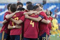 Испания - Литва, фото сборная Испании