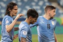 Футболисты сборной Уругвая, фото Selección Uruguaya