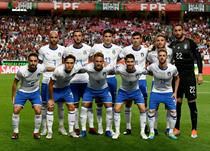 Сборная Италии перед матчем с Португалией, Getty Images