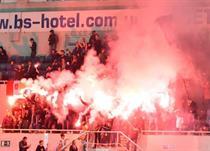 Фанаты Черноморца, фото Мэтта Уокера