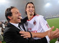 Аллегри и Ибрагимович, Getty Images