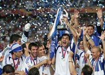 Сборная Греции - чемпион Европы 2004 года, Getty Images