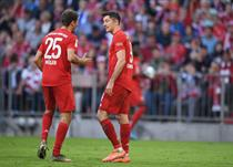 Роберт Левандовски и Томас Мюллер, getty images