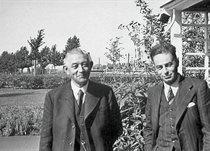Арпад Вейс (праворуч)