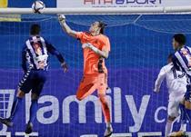 Андрей Лунин в своем первом матче за Реал, realmadrid.com