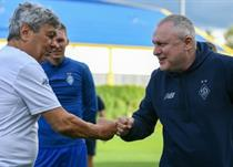 Мирча Луческу и Игорь Суркис