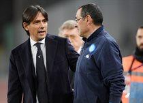 Симоне Индзаги и Маурицио Сарри, Getty Images