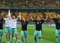Сборная Австрии после игры против Северной Македонии, Getty Images