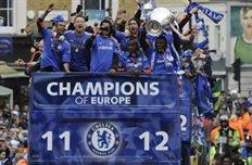 Челси выходит на защиту титула, фото dailymail.co.uk