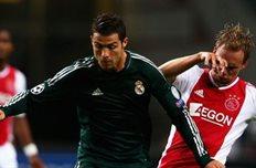Сим де Йонг против Роналду, фото zimbio.com