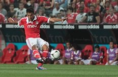 Точный удар Гарая принес Бенфике три очка, фото slbenfica.pt