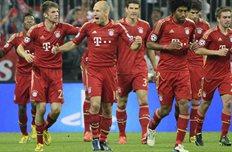 Мюнхен празднует успех, фото uefa.com