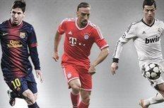 Тройка лучших, коллаж uefa.com