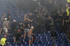 Фаны ЦСКА показали себя в Риме, Getty Images