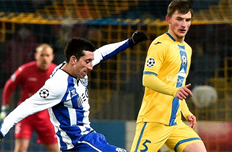 Эктор Эррера забил первый гол, uefa.com