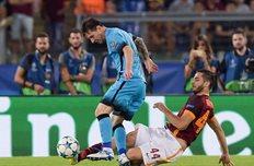 Манолас против Месси, Getty Images
