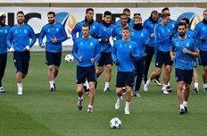 Реал готовится к матчу против Мальме, uefa.com