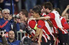 ПСВ забивает гол, Getty Images