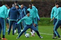 Игроки Челси готовятся к поединку против Порту, uefa.com