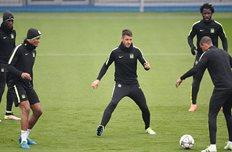 Тренировка Ман Сити, Getty Images