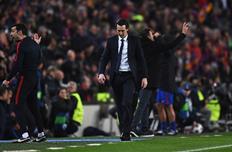 Эмери потерпел тяжелое поражение в Барселоне, Getty Images