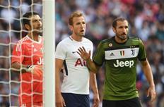В матче Международного кубка чемпионов сдержать Харри Кейна Ювентусу не удалось, Getty Images