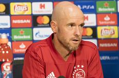 Эрик тен Хаг, ajax.nl