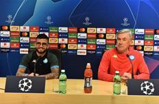 Лоренцо Инсинье и Карло Анчелотти, фото ФК Наполи
