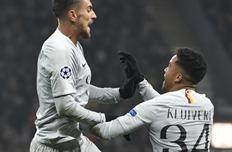 Пеллегрини забил победный гол, uefa.com