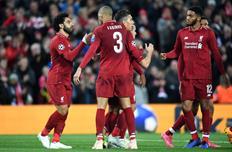 Ливерпуль не проигрывает в еврокубках на своем поле в 18 матчах кряду