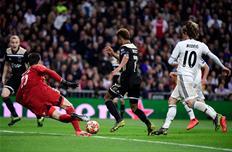 Реал впервые пропустил дважды за 18 минут на Сантьяго Бернабеу в ЛЧ