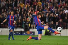 Серхи Роберто забил решающий гол на 95-й минуте встречи, Getty Images