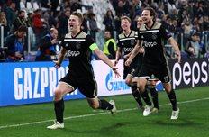 Матейс Де Лигт забил победный гол на Альянц Стэдиум, Getty Images