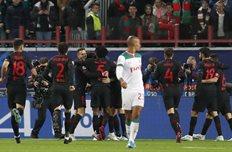 Локомотив на своем поле безвольно уступил Атлетико