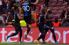 Игроки Брюгге, фото: Скриншот