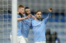 Радость игроков Манчестер Сити, фото getty images