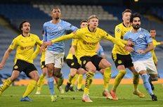 Манчестер Сити — Боруссия Д, Getty Images