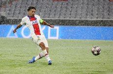 Маркиньос в первой игре против Баварии, Getty Images