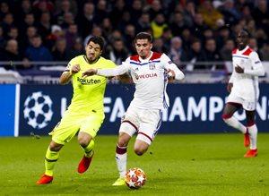 Лион — Барселона: видеообзор матча Лиги чемпионов