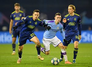 Динамо Загреб — Манчестер Сити 1:4 Видео голов и обзор матча