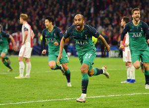 Лукас Моура стал героем матча, Getty Images