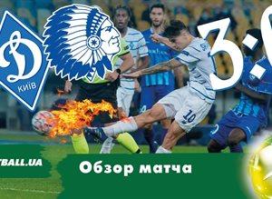 Динамо — Гент: разбор победного для киевлян матча