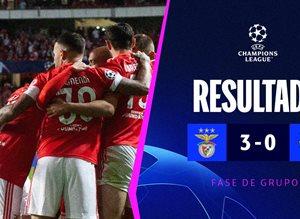 Бенфика — Барселона 3:0 Видео голов и обзор матча