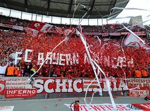 Болельщики ФК Бавария, eurosport.com
