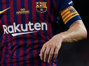 Контракты с Rakuten и Nike обеспечивают Барселоне значительный доход, Getty Images