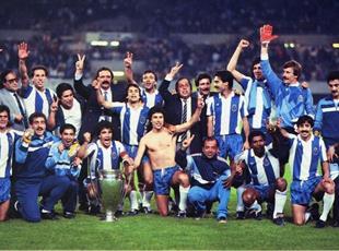 Порту - обладатель Кубка европейских чемпионов 1987 года