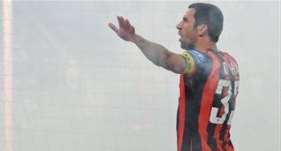 Дарио Срна. © Михаил Масловский, Football.ua