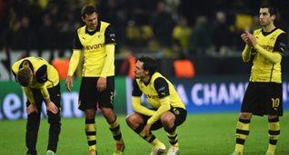 Разочарованные игроки Боруссии, фото getty images