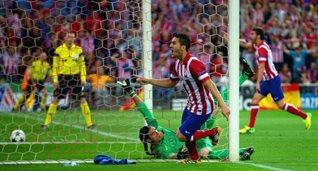 Коке забивает гол, Getty Images